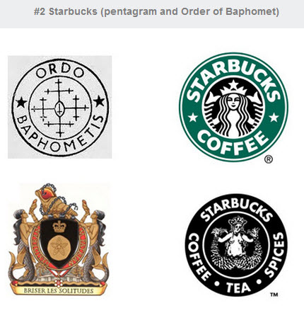 Are Satanic Symbols Hidden In Your Coffee Corporate Logos